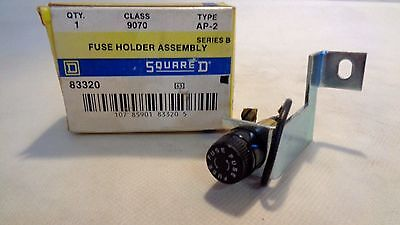 New In Box  Square D 9070-Ap-2  Fuse Holder Assembly Series B