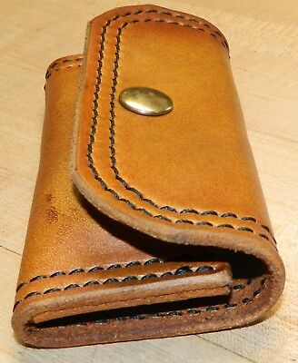 Leather Speed Strip POUCH .44/.45lc rounds.   Belt carry, in Pocket or Bag