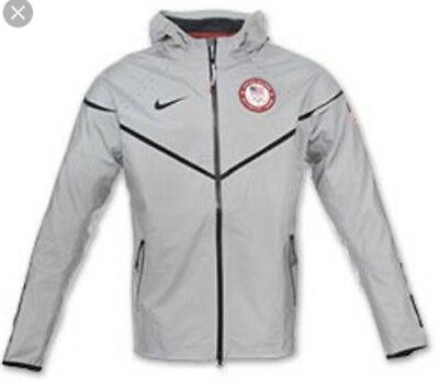 36165143f2 Nike 2012 Olympic Team Usa 3M Flash 21St Windrunner Podium Medal Stand  Jacket L