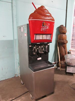 """taylor 346-27"" Commercial Hd 2 Barrels Carbonated Slushy Machine Lighted Prop"