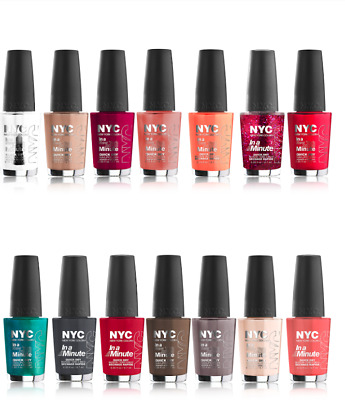 N.Y.C. IN A NY Color Minute Quick Dry Nail Polish - Choose Your ...