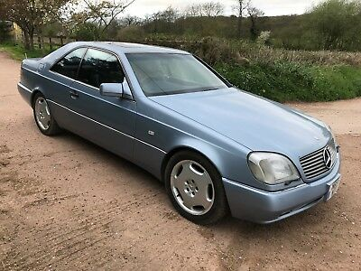 Rare Mercedes S500 Coupe (1995M) 77000 Kms,found In A Barn,lovely Colour