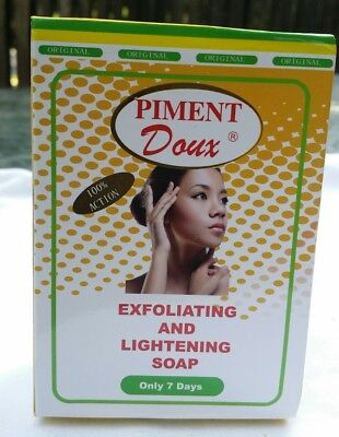 Piment Doux Exfoliating And Lightening Soap Only 7Days