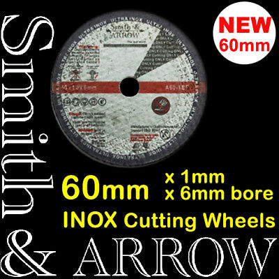 "25 x 60mm 2.5"" CUTTING DISCS WHEELS CUT OFF AIR TOOL DIE GRINDER ROTARY METAL"