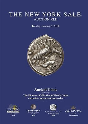 New York Sale Auction 42 Ancient Greek Roman Gold Silver Byzantine Coin 2018