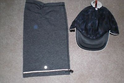 Lot of Lululemon Neckwarmer and Brand New Warm Stained Glass Winter Hat