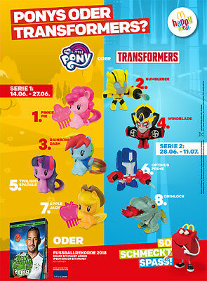 Mc Donalds Happy Meal My little Pony