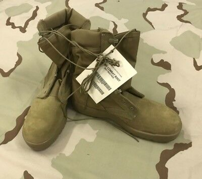 Mcrae  Jungle Boots Ocp Coyote Hot Weather  Us Army Issue 9.5 Reg Vibram Sole