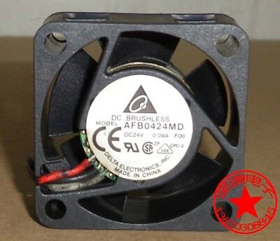 For DELTA AFB0424MD Double ball inverter cooling fan DC24V 0.09A 40*40*20mm 3pin