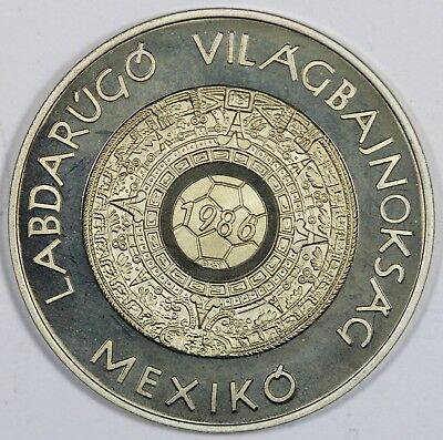 Mexico. 1986 'World Cup' Commemorative Medal, Uncirculated