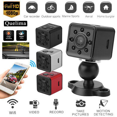 Quelima SQ13 Car DVR Camera 1080P Night Vision WiFi Video Recorder Sport Monitor