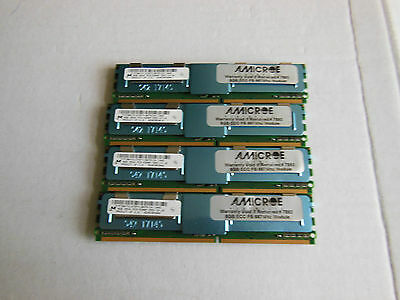 DELL 1950 64GB RAM  8 x 8GB 2Rx4 PC2-5300F DDR2-667 ECC SERVER MEMORY