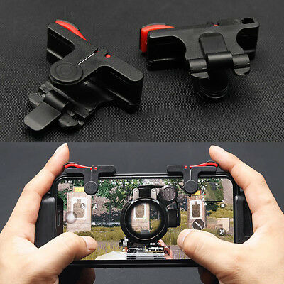 Gaming Trigger Smartphone Mobile Aiming Fire Button Shooter Controller for PUBG