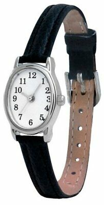 1a035e85c MERONA WOMENS WATCH With Oval Dial and Black Band - $6.95 | PicClick