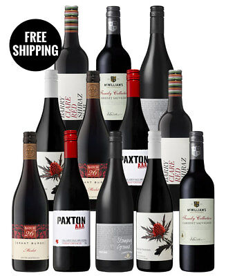 Red Star Halliday Reds Dozen (12 Bottles)