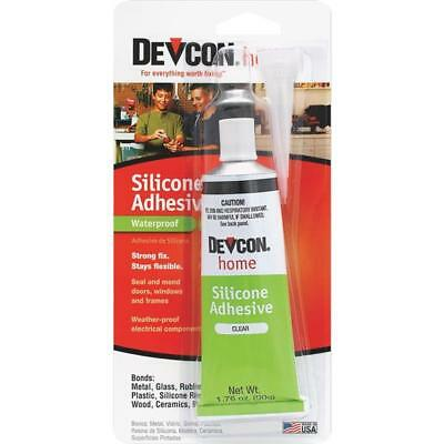 Devcon Silicone High Strength Waterproof Clear Adhesive 1 OZ 12045