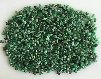 306 Ct Natural Emerald Green Rough Gemstones Loose Mineral Lot Raw Wholesale