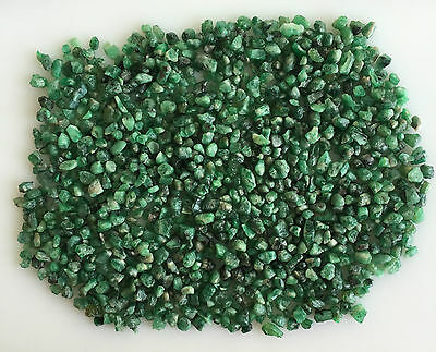 315 Ct Natural Emerald Green Rough Gemstones Loose Mineral Lot Raw Wholesale