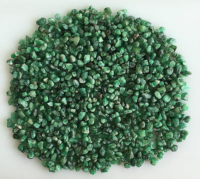 302 Ct Natural Emerald Green Rough Gemstones Loose Mineral Lot Raw Wholesale