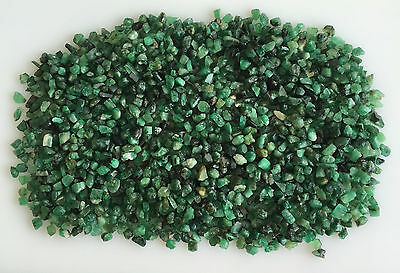 480Ct Natural Emerald Green Rough Gemstones Loose Mineral Lot Raw Wholesale Nice