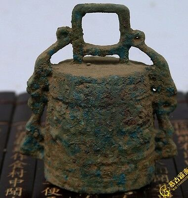 old chinese Rare Collect Ancient China dynasty Palace Bronze bell 002