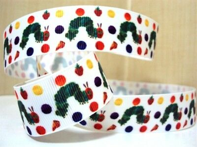 Grosgrain Ribbon The Hungry Caterpillar (1, 2 or 5m)