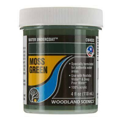 Woodland Scenics Water Undercoat Moss Green 118ml cw4533