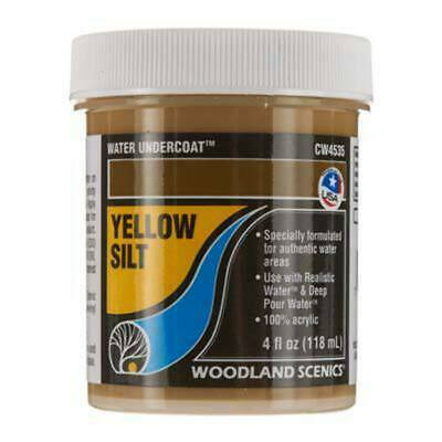 Woodland Scenics Water Undercoat Yellow Silt 118ml cw4535