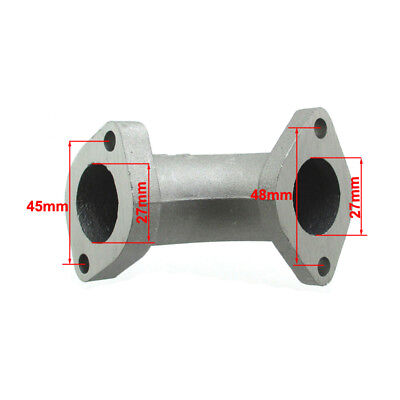 27mm Intake Pipe Inlet Mainfold ZL-174 For 125cc 140cc 150cc 160cc Pit Dirt Bike