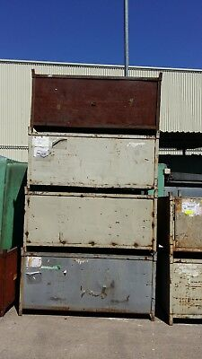 Metal Pallet / Steel Stillage stackable, heavy duty