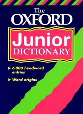 The Oxford Junior Dictionary By Rosemary Sansome, Dee Reid, Ala .9780199107063