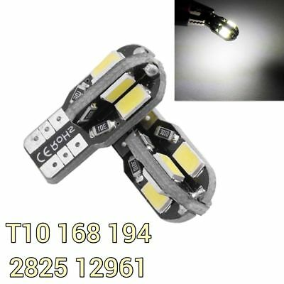 Canbus T10 27 LED Red Bulb License Plate Light W5W 168 194 W1 For Cadillac A