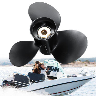 For Mercury Engine 25-70HP 48-73134A40 Aluminum Outboard Propeller 10 5/8 x 12