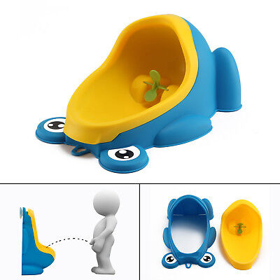 NEW Baby Children Potty Urinal Toilet Training Boy Bathroom Frog Pee Trainer