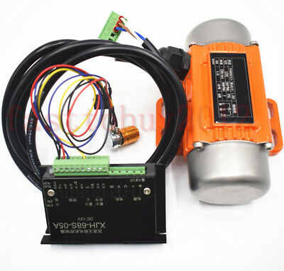 Mini DC Brushless Vibration Vibrator 15W 24V Motor&Speed Controller for Industry