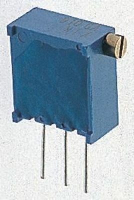 Bourns 3296X Series 25-Turn Through Hole Trimmer Resistor with Solder Pin Termin
