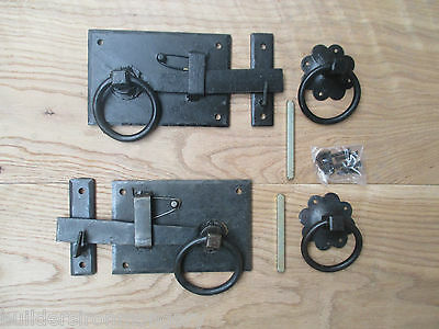 Vintage Old English Country Cottage Style Anneau Gates Doors Sheds Latch Handles