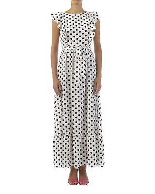 sports shoes 08672 bbbd5 A MÒÒD ABITO lungo pois Dresses spring/summer pois bianco/nero