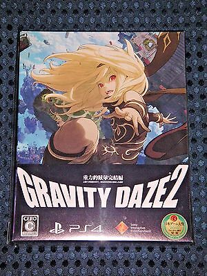 NEW PS4 Gravity Daze 2 Rush Limited Edition w/ BONUS Anime Blu-ray set JAPAN F/S