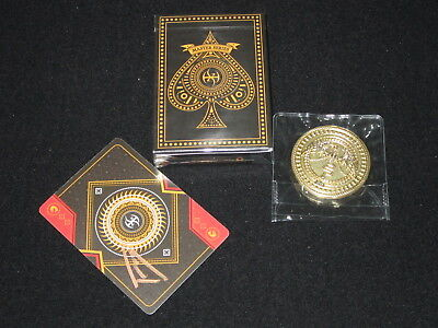 Master Series Lordz + Coin Playing Cards by De'vo Devo Handlordz - Limited, Rare