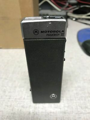 Motorola Pageboy III VHF Tone & Voice Pager