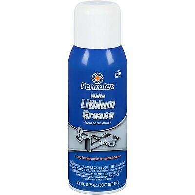 Permatex Long Lasting White Lithium Grease Lubricant Spray 10.75 OZ 81981