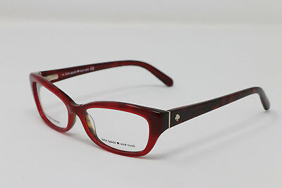 278e09f7fcc NEW KATE SPADE Eyeglasses CATALINA 0FN1 Red 51-14-135 AUTHENTIC ...