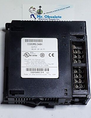 New *Not In Box* GE IC693MDL940H Output Relay 2A 16PT