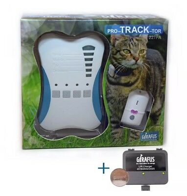 Girafus® Pro-track-tor Pet Safety Tracker RF Technology Dog and Cat Tracker Find