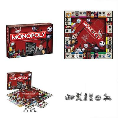 monopoly tim burtons the nightmare before christmas board game - Nightmare Before Christmas Board Game