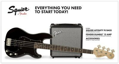 Squier Precision Bass Pack Black