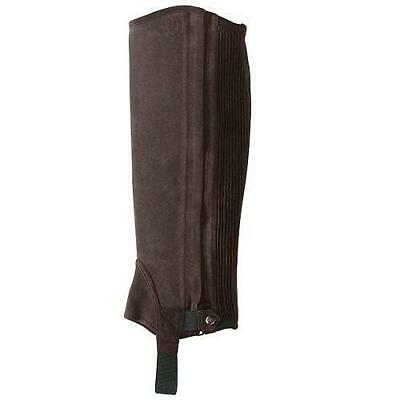New Ariat All Around Suede Half Chaps - Brown - Was £69.00