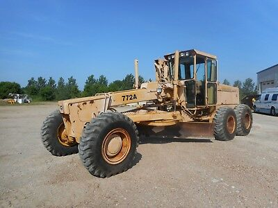 John Deere 772A Motor Grader With Only 6320 Hours
