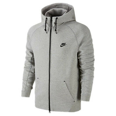676e19fc2af0 NIKE DARK GREY Tech Fleece AW77 1.0 Full Zip Hoodie -  110.00
